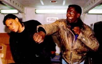 Passenger 57 1992 action movie Wesley Snipes fight scene