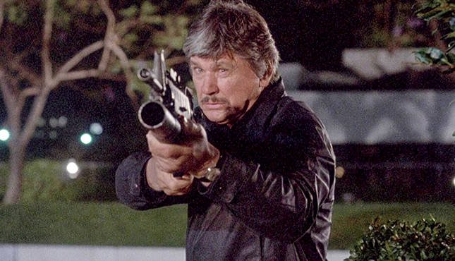 Charles Bronson Death Wish 4 Crackdown 1987 bazooka gun