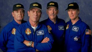 Clint Eastwood Tommy Lee Jones Donald Sutherland James Garner Space Cowboys 2000