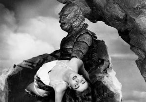 Creature From The Black Lagoon 1954 Universal monster movie Julie Adams