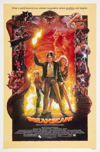 Dreamscape 1984 movie film poster