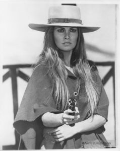 Raquel Welch as Hannie Caulder 1971 western female hero