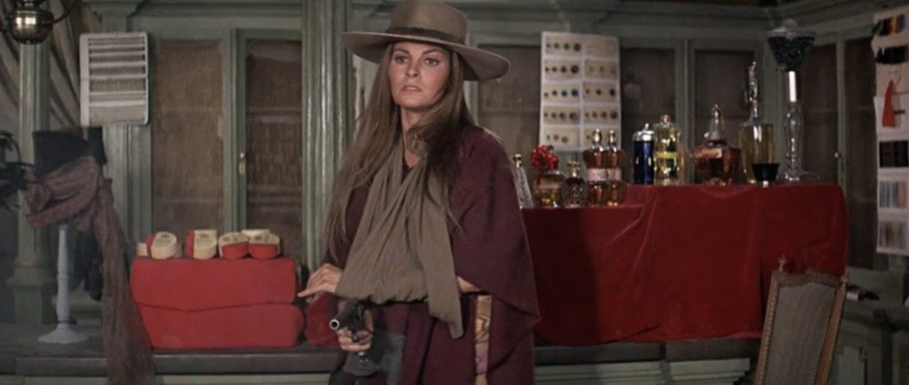 Raquel Welch is Hannie Caulder 1971 western