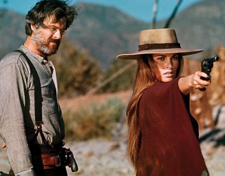 Robert Culp Raquel Welch Hannie Caulder 1971 revenge western