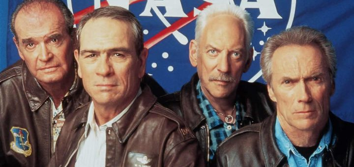 Space Cowboys 2000 Clint Eastwood Tommy Lee Jones Donald Sutherland James Garner