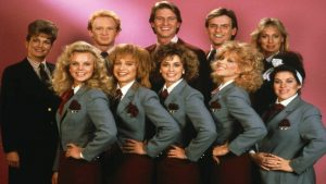 Stewardess School 1986 comedy cast