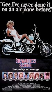 Stewardess School 1986 movie poster comedy