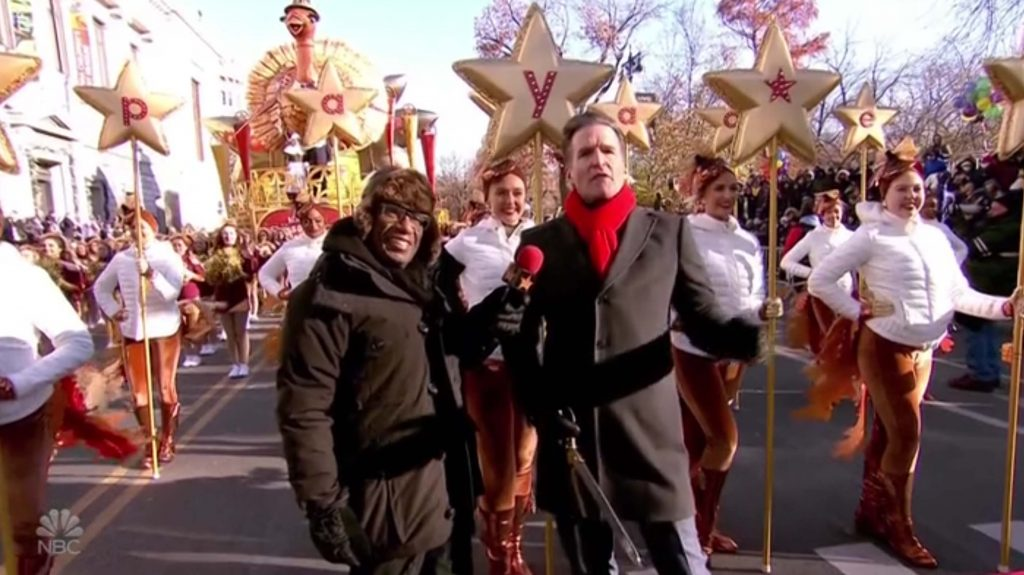 Al Roker NBC Macys Thanksgiving Day Parade 2018