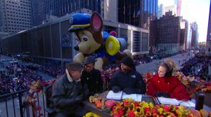 CBS Thanksgiving Day Parade Paw Patrol balloon 2018