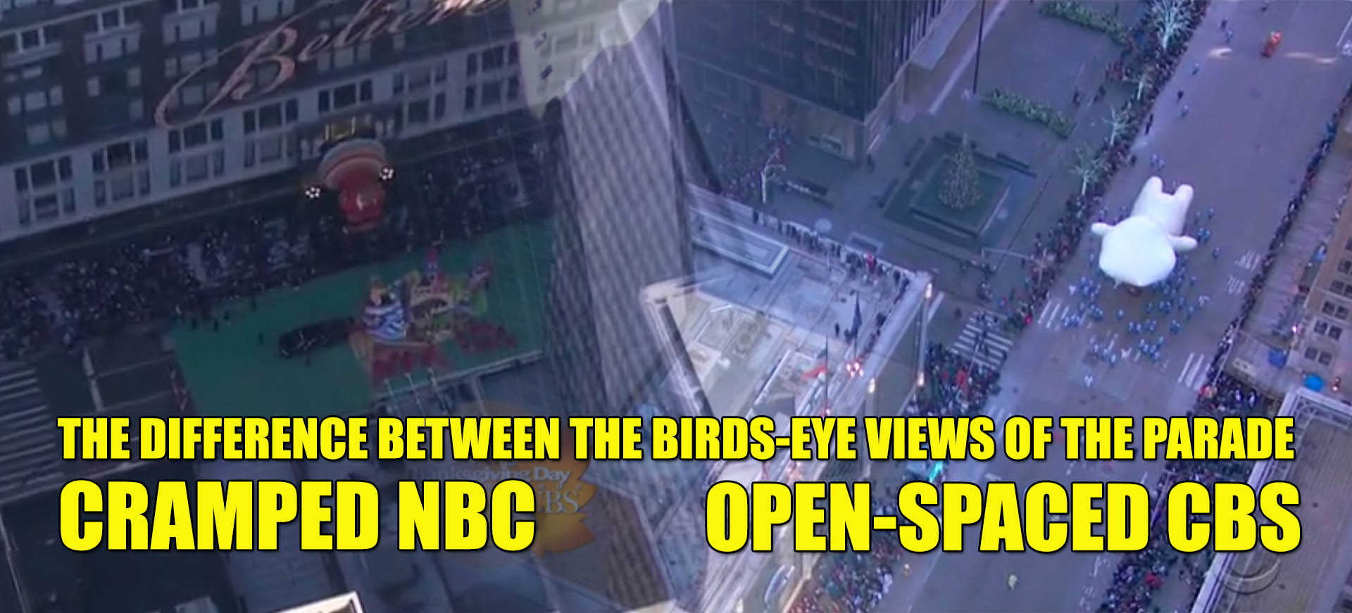 Difference NBC CBS Thanksgiving Macys Parade Coverage