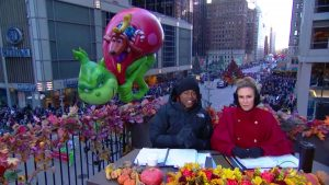 Grinch balloon Macys Thanksgiving Parade 2018 CBS