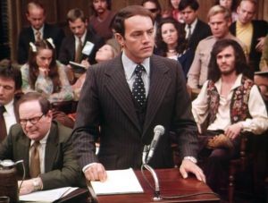 Helter Skelter 1976 tv movie Charles Manson trial scene Vincent Bugliosi