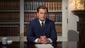 Jason Clarke as Ted Kennedy in Chappaquiddick 2018 docudrama