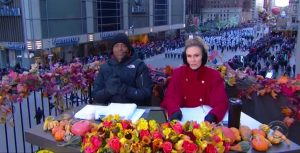 Kevin Frazier Keltie Knight CBS Macys Thanksgiving Day Parade Hosts