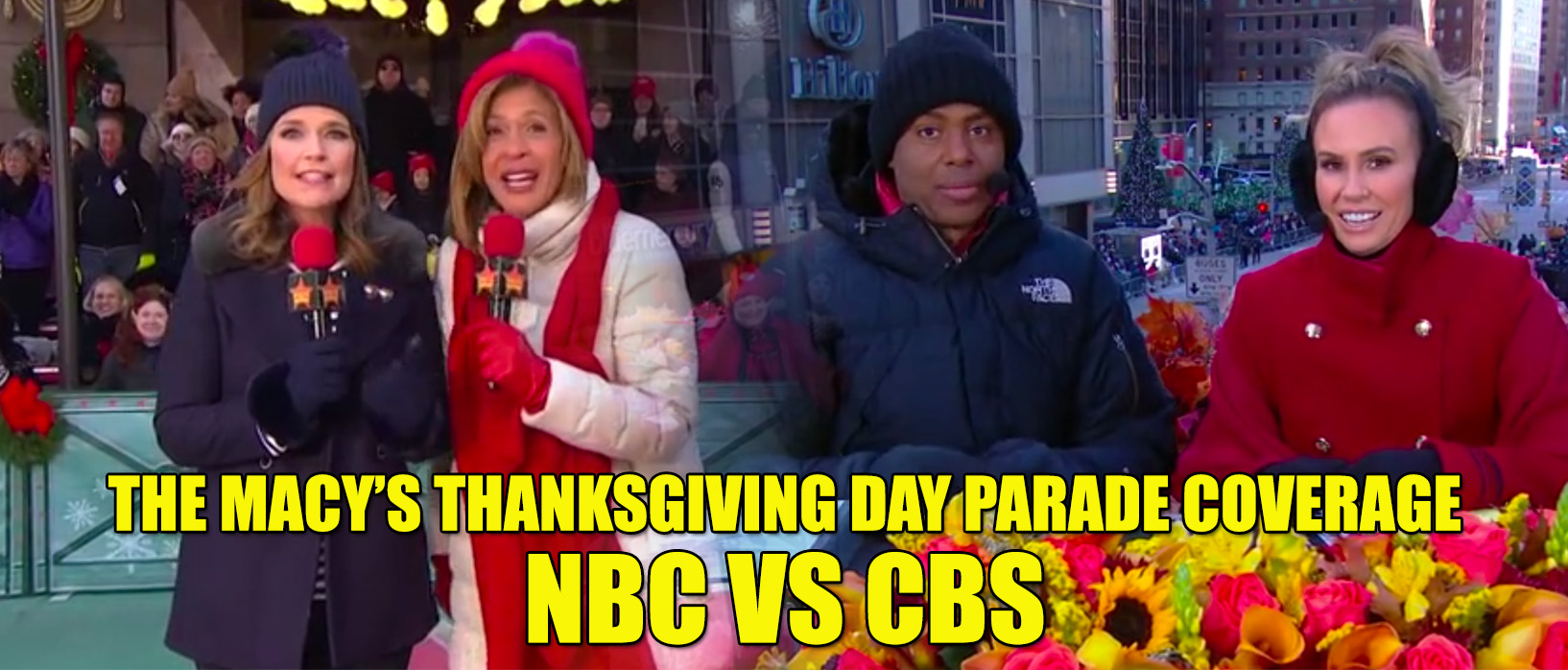 Macys Thanksgiving Day Parade Coverage NBC CBS tv review