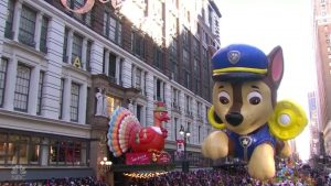 Macys Thanksgiving Day Parade Paw Patrol balloon NBC 2018