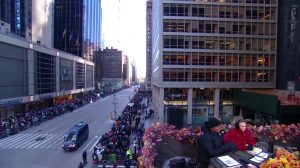 Macys Thanksgiving Parade 2018 CBS broadcast empty street