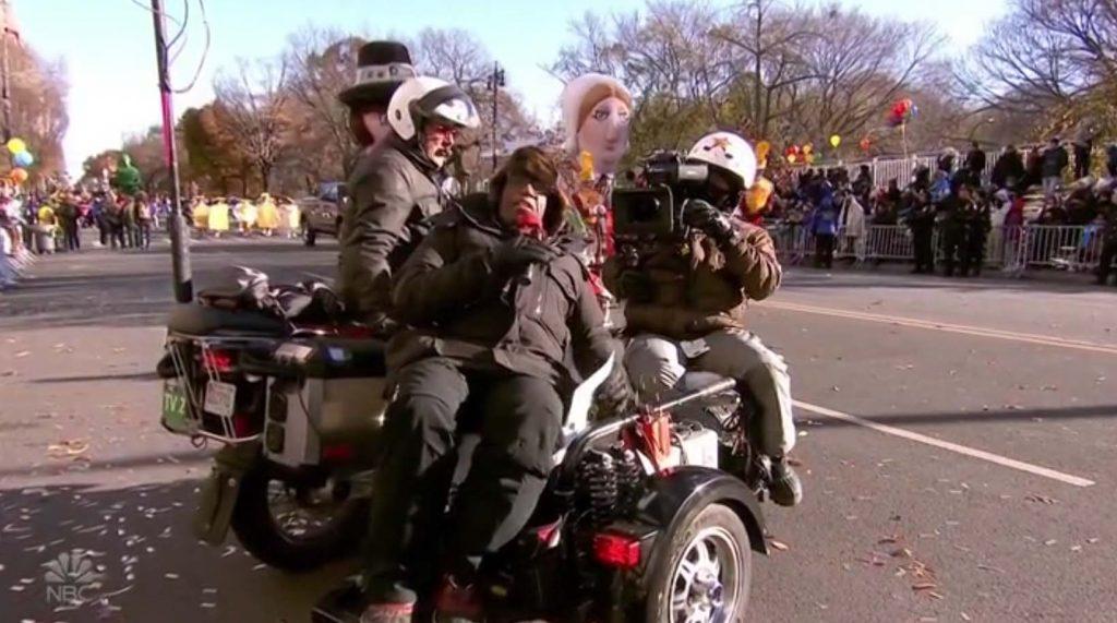 Macys Thanksgiving Parade Al Roker motorcycle 2018