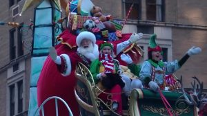 Macys Thanksgiving Parade Santa Claus 2018
