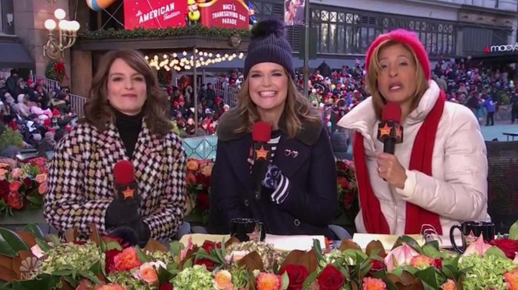 Macys Thanksgiving Parade Tina Fey NBC 2018