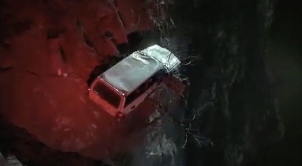 Mothers Boys 1993 Jamie Lee Curtis thriller car crash