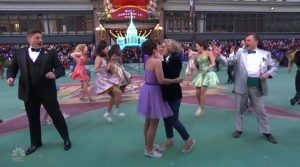 NBC Macys Parade Prom Musical same sex kiss 2018