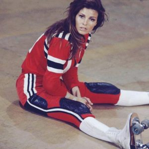Raquel Welch Kansas City Bomber 1972 sports roller derby