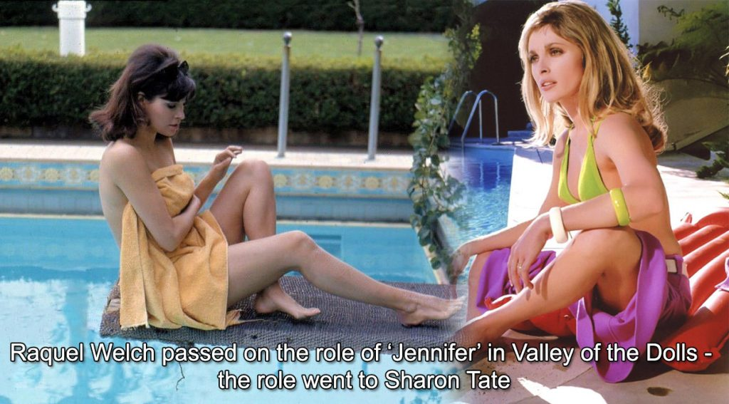 Raquel Welch Sharon Tate Valley of the Dolls 1967 Jennifer role