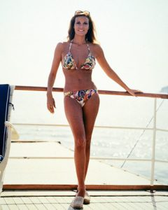 Raquel Welch The Last of Sheila 1973 bikini yacht