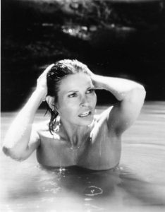 Raquel Welch wet beach Trouble in Paradise 1989 tv movie