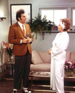 Seinfeld 1997 Michael Richards Kramer Raquel Welch