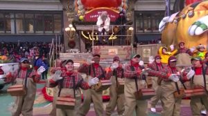 Sugarland Macys Thanksgiving Day Parade 2018 background dancers NBC