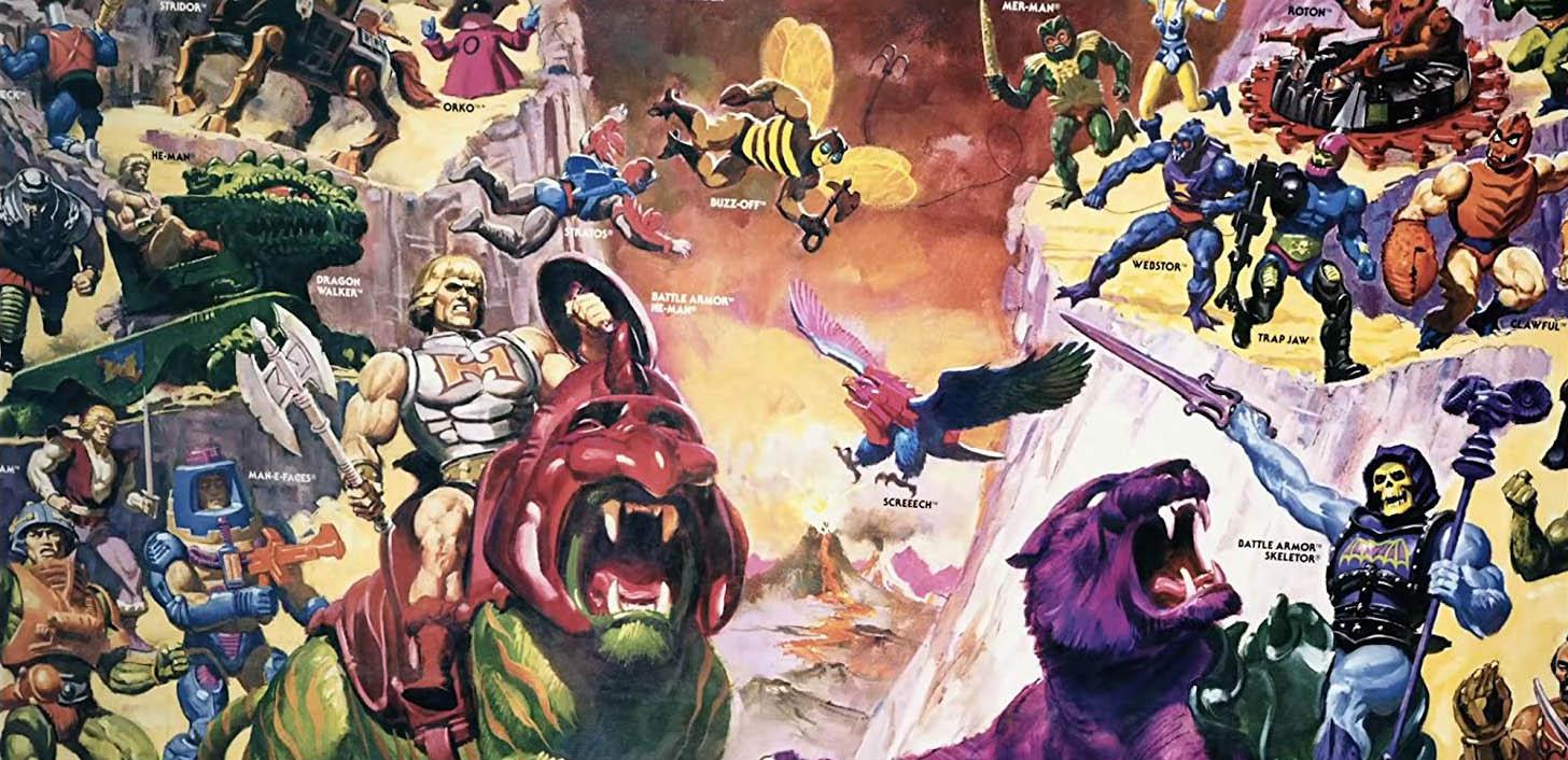 Power of Grayskull 2017 documentary He-Man Masters of Universe