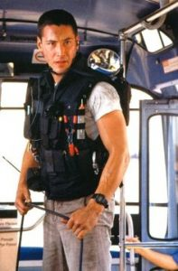 Keanu Reeves Speed 1994 action movie bus bomb