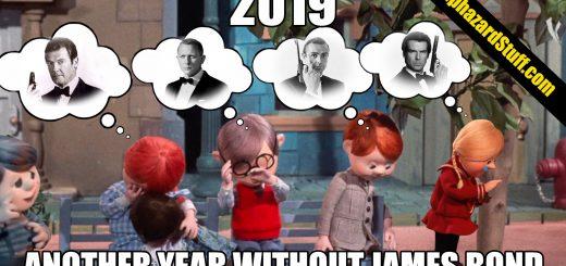 2019 Year No James Bond