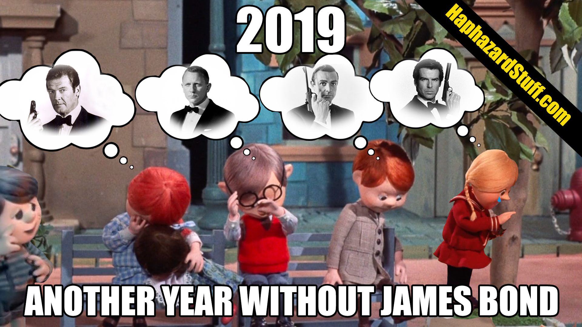 A Year-Long Wait For Bond 25