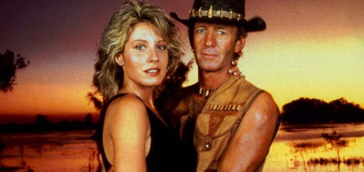 Crocodile Dundee 1986 comedy Paul Hogan Linda Kozlowski