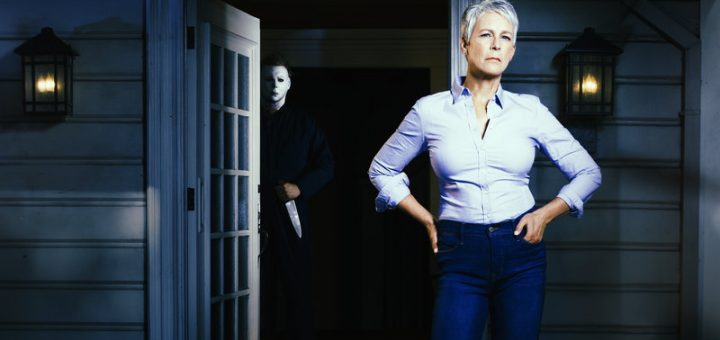 Halloween 2018 Jamie Lee Curtis Michael Myers Laurie Strode