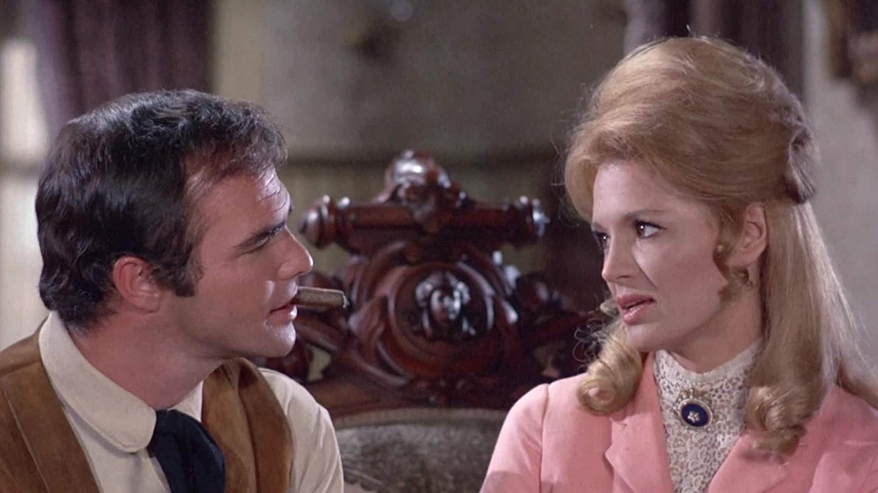 Burt Reynolds Angie Dickinson Sam Whiskey 1969 western comedy