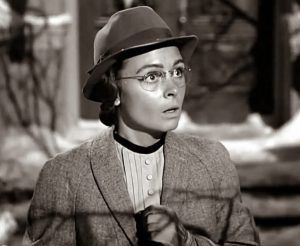 Donna Reed Mary Its A Wonderful Life librarian glasses old maid