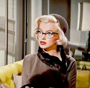 How To Marry A Millionaire 1953 Marilyn Monroe glasses