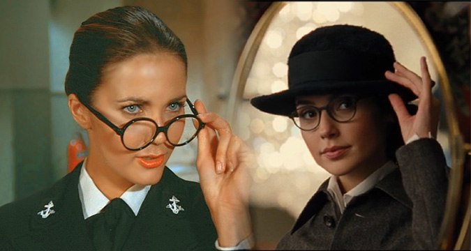 Lynda Carter Gal Gadot Wonder Woman glasses disguise