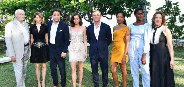 Bond 25 Live Reveal Cast Jamaica