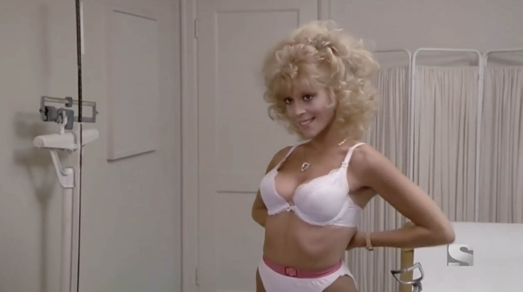 Judy Landers sexy Stewardess School 1986 comedy