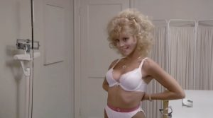 Judy Landers sexy Stewardess School 1986 comedy