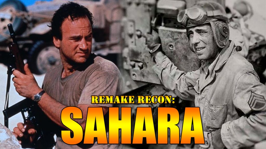 Sahara 1943 war movie 1995 Bogart Belushi