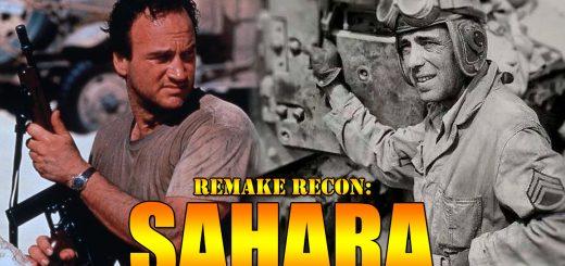 Sahara 1943 war movie 1995 Bogart Belushi