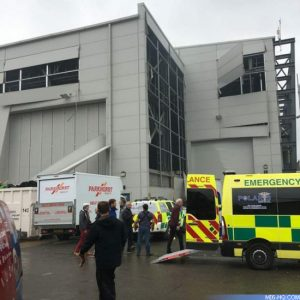 Bond 25 Pinewood explosion accident