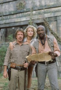 Chuck Norris Melody Anderson Louis Gossett Firewalker 1986 action adventure movie