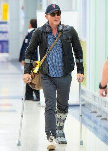 Daniel Craig James Bond 25 ankle injury
